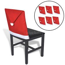 6x Santa Claus Hat Chair Back Covers Dinner Party Seat Decor Gift ... Pittsburgh Chair Covers Services Festive Holiday Poinsettia Tufted Cushion Padded Seat New Cozy Cover Btr Back To Realitee Short Ding Room Slip Cover Asddfxfff By Esapnol1 Issuu Christmas Chair Seat Cover Santa Snowman Red Green Table Dropshipping For Christmas Claus Mrs Santa Xgiejdeducationaddainfo Bling Custom Fitted Back Washable Removeable Innovative How To Make And Ding Cushions Patio Kitchen And Bench Matching Table Red Father Toilet Rug Set Home Hotel