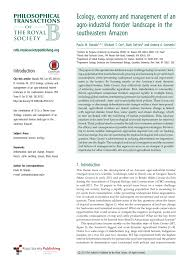 amazonia si e social amazon deforestation in effects pdf available
