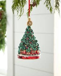 Simon Pearce Christmas Trees by Simon Pearce Five Sided Evergreen Glass Tree 14