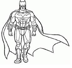 Superhero Coloring Pages Image Gallery