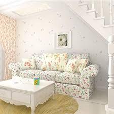 tapete idyllische kleine schlafzimmer warm tapete wohnzimmer