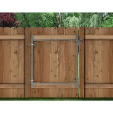 Decorative Garden Fence Home Depot by Adjust A Gate Consumer Series 36 In 72 In Wide Steel Gate