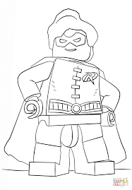Click The Lego Robin Coloring Pages To View Printable