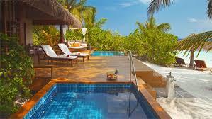 chambre sur pilotis maldives baros maldives les plus beaux hôtels du monde