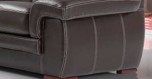 canape cuir chocolat varese salon 3 2 cuir buffle premium personnalisable sur univers du cuir