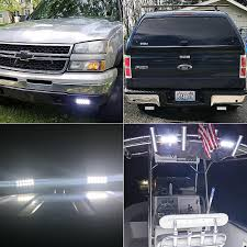 TURBOSII 7 Inch Led Light Bar Super Bright Led Work Lamps Off Road ... 10 Inch 50w Led Light Bar Spotflood Combo 4200 Lumens Cree 50 250w 21400 Trophy Truck With Lights And Light Bar Archives My Trick Rc Rough Country Black Bull W For 0418 Ford F150 2 X Cube 16w Cree Led Flood Fog Driving For Off Road Jeep How To Wire Correctly Adventure 60 Truck Tailgate Redwhite Reverse Stop Running Turn Lightbar Install On The Old Youtube Lund 35 Strobe Umbrella Unique Trucks 42018 Gm 1500 Hidden 30inch Curved Grille 45 Raptors Only Dog Autobody