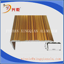 Tile Stair Nosing Trim by Aluminum Stair Nose Trim Stair Edge Trim Aluminium Tile Edging