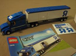100 Truck Store Lego City 7848 Toys R Us Complete Set