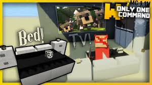 Minecraft Modern BEDROOM FURNITURE with ly two mand Blocks