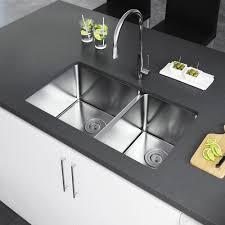 33x22 Stainless Steel Kitchen Sink Undermount by Exclusive Heritage 31