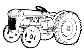 Coloriage Tracteur Imprimer Gratuit Ldttaorg