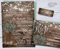 Country Wedding Invitations Printable Rustic Invitation Summer Floral Cowboy Boot String Lights Barn Invite Mint