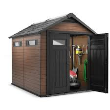 Keter Manor Plastic Shed 4 X 6 by Decorating Oakland 7 X 6 Keter Shed With Double Doors For