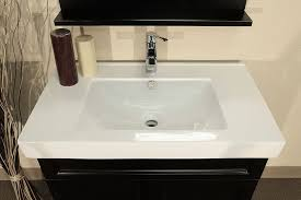 48 Inch White Bathroom Vanity Without Top by Alluring Bathroom Vanity Tops Option Natural Ideas Within Top