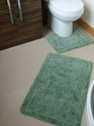 2 teiliges badezimmergarnitur badematten 50 80 cm wc vorleger bezug 50x50 cm