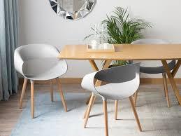 esszimmerstuhl 2 stühle grau kunststoff ch