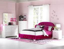 Purple Velvet King Headboard by Bedroom Chic Design Ideas Of Little Girls Bedroom With Pink