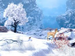 télécharger winter afternoon animated wallpaper gratuit