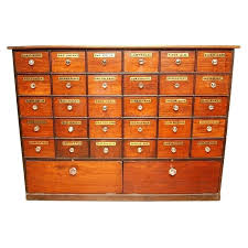 18 Drawer Apothecary Chest Apothecary Chest Industrial 18 Drawer