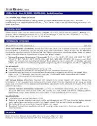 Sample Software Developer Resume Engineer In Keyword Doc