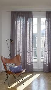 einzel vorhang aus leinen mit modernem design gardinen