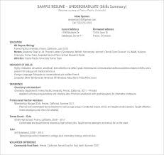 Resume Samples Receptionist Objective For A Sample Career Examples