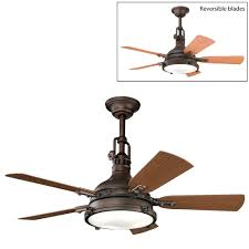 Ul Damp Rated Ceiling Fans by Patio Ideas Kichler Lighting 310101 4 Light Hatteras Bay Patio