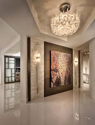 miami large wall sconce entry contemporary with high gloss floors