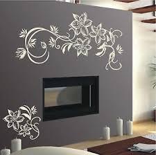 details zu wandtattoo blumenranke wohnzimmer deko flur schlafzimmer wandaufkleber ht 474