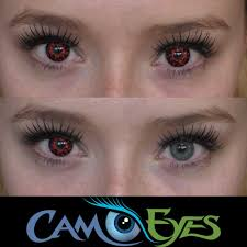 Prescription Halloween Contacts Canada by Lava Contact Lenses Camoeyes Com