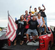 100 Luke Bryan Truck Tailgating With WYRK At Concert Photos
