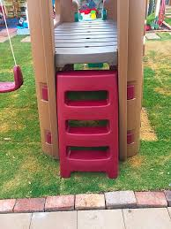 Step2 Playhouses Slides U0026 Climbers by Step2 Playhouse Climber With Slide U0026 Swing Set Extension Baby