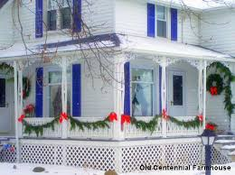 Outdoor Christmas Decorating Ideas Front Porch by Outside Christmas Decorations And Ideas To Make Your Holidays Bright