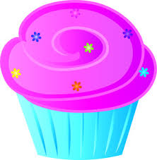 cute birthday cupcake clip art