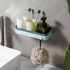 badregal duschablage ohne bohren wandregal eckregal duschecke badezimmer küche