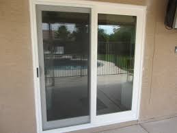 white french rail door with sliding screen door replacement