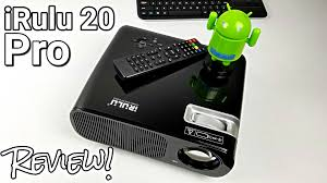 irulu 20 pro projector and android tv box all in one review