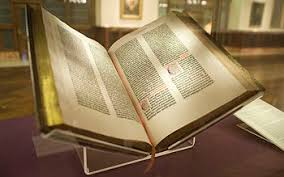 Gutenberg Bible Of The New York Public Library Bought By James Lenox In 1847 It Was First Copy To Be Acquired A United States Citizen