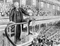 Spurgeon Preaching In The Pulpit