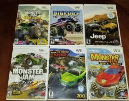 100 Monster Truck Mayhem Wii Games Lot Of 6 Monster Truck And Car Games 1789679653