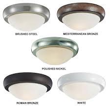 monte carlo fans mc220 large disc light matte opal glass light kit