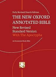 The New Oxford Annotated Bible Revised Standard Version By Anonymous