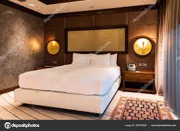 100 Modern Luxury Bedroom Interior Hotel Room Style Stock