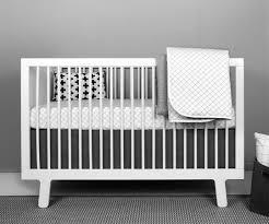 Arrow Crib Bedding by Black And White Baby Bedding Monochrome Nursery Olli Lime Modern