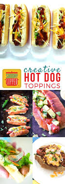 Creative Hot Dog Toppings #SundaySupper | Hot Dog Toppings, Hot ... Best 25 Hot Dog Bar Ideas On Pinterest Buffet Bbq Tasty Toppings Recipes Gourmet Hot Win Memorial Day With 12 Amazing Dog Toppings Organic Grass Teacher Appreciation Lunch Ideas Bar Bratwurst And Jelly Toast Easy Chili Recipe Dogs What Does Your Say About You Psychology Long Weekend Cookout Food Click Create A Joy Of Kosher The Smart Momma Poker Run