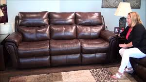 allure reclining sofa set by southern motion youtube