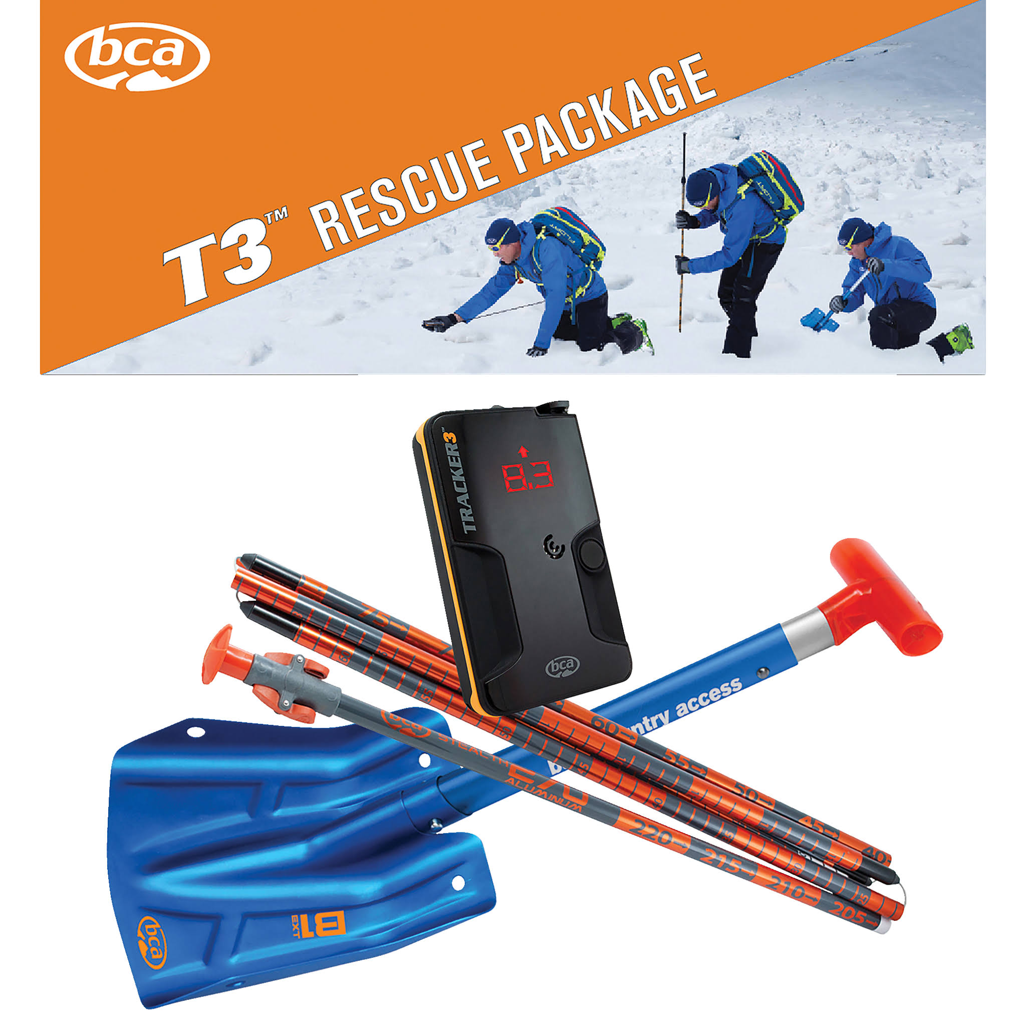 Backcountry Access T3 Rescue Package