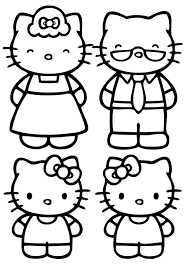 Hello Kitty Coloring Pages 30 Title