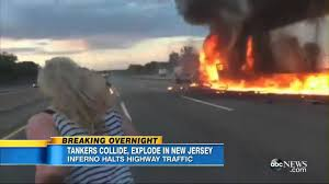 Horrible Explosion Of 2 Trucks After Collision In New Jersey - YouTube Union Firefighters Extricate Driver From Rt 78 Truck Accident 11815 Nj Turnpike I95 Crash Black Ice Trailer Flip Youtube Chesterfield Animation 3 People Killed In Involving Ctortrailer On I280 East Garbage Truck Crashed Into A Wooded Area Of Goffle Brook Park In Man Dies With New Jersey Police Nbc Crashes After Losing Brakes On Hill Hawthorne 1 Dead Overturned Flyengulfed Dump Shuts Down Two 43 Injured School Bus Torn Apart Crash Tractor Trailer Overturns Route 55 Harrison Twp Gloucester 322 Reopens Headon Logan 6abccom