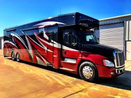 100 Semi Truck Motorhome Show Hauler RVs For Sale 23 RVs RV Trader